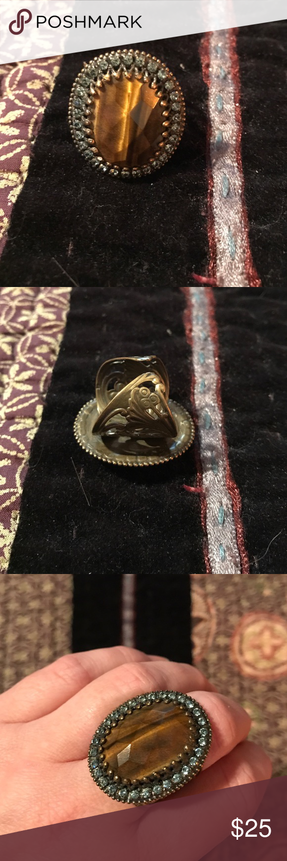 💎Sorrelli cocktail statement ring💎 Sorrelli cocktail ring. Like new. Sorrelli Jewelry Rings