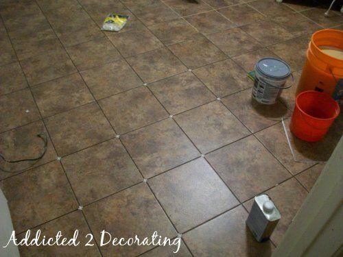 My New Trafficmaster Ceramica Groutable Tile Flooring Jpg 500 375 Pixels