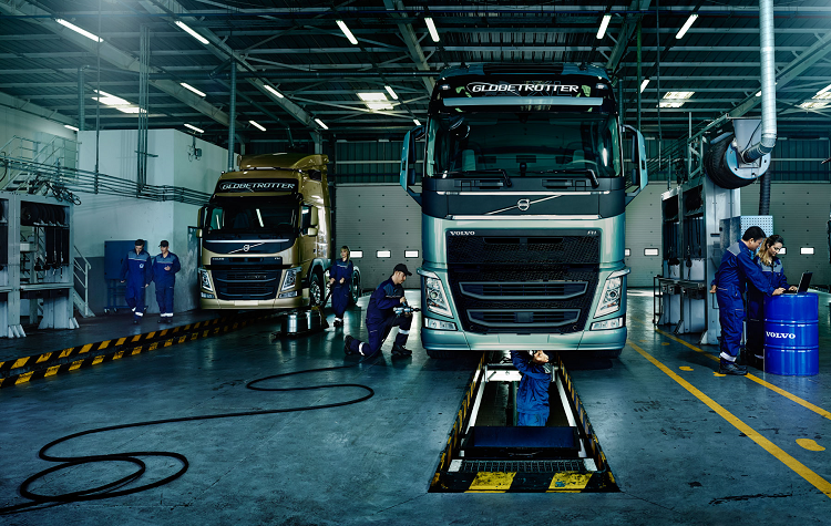 Volvo Trucks Extends The Guarantee For Original Volvo Spare Parts Up To Two Years Now If Within Two Years From The Date Of Pu Truck Repair Trucks Volvo Trucks