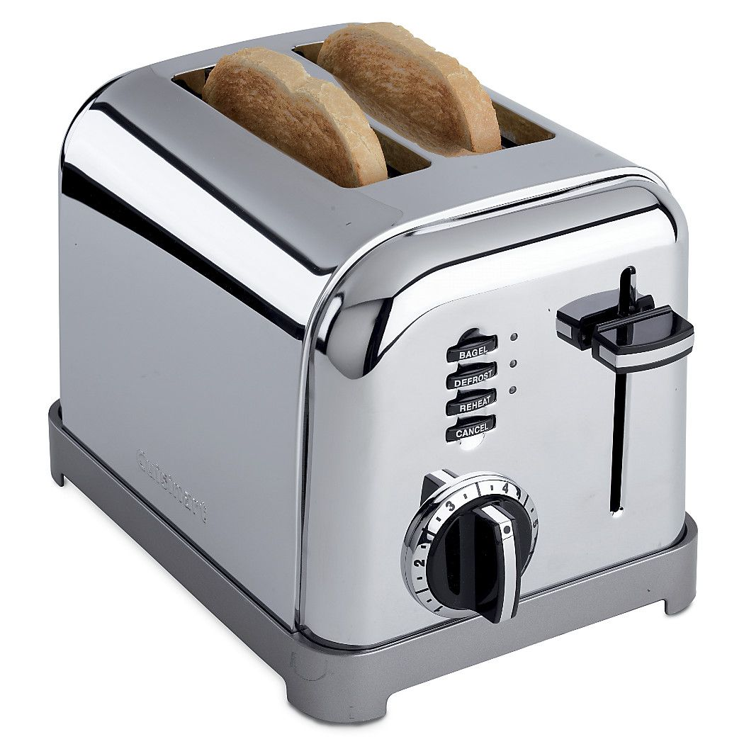 chrome image product cuisinart upc cpt classic metal toaster slice for
