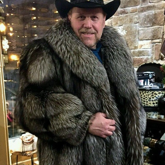 men in silver fox fur coat - Google Search | Gentlemen in Furs ...