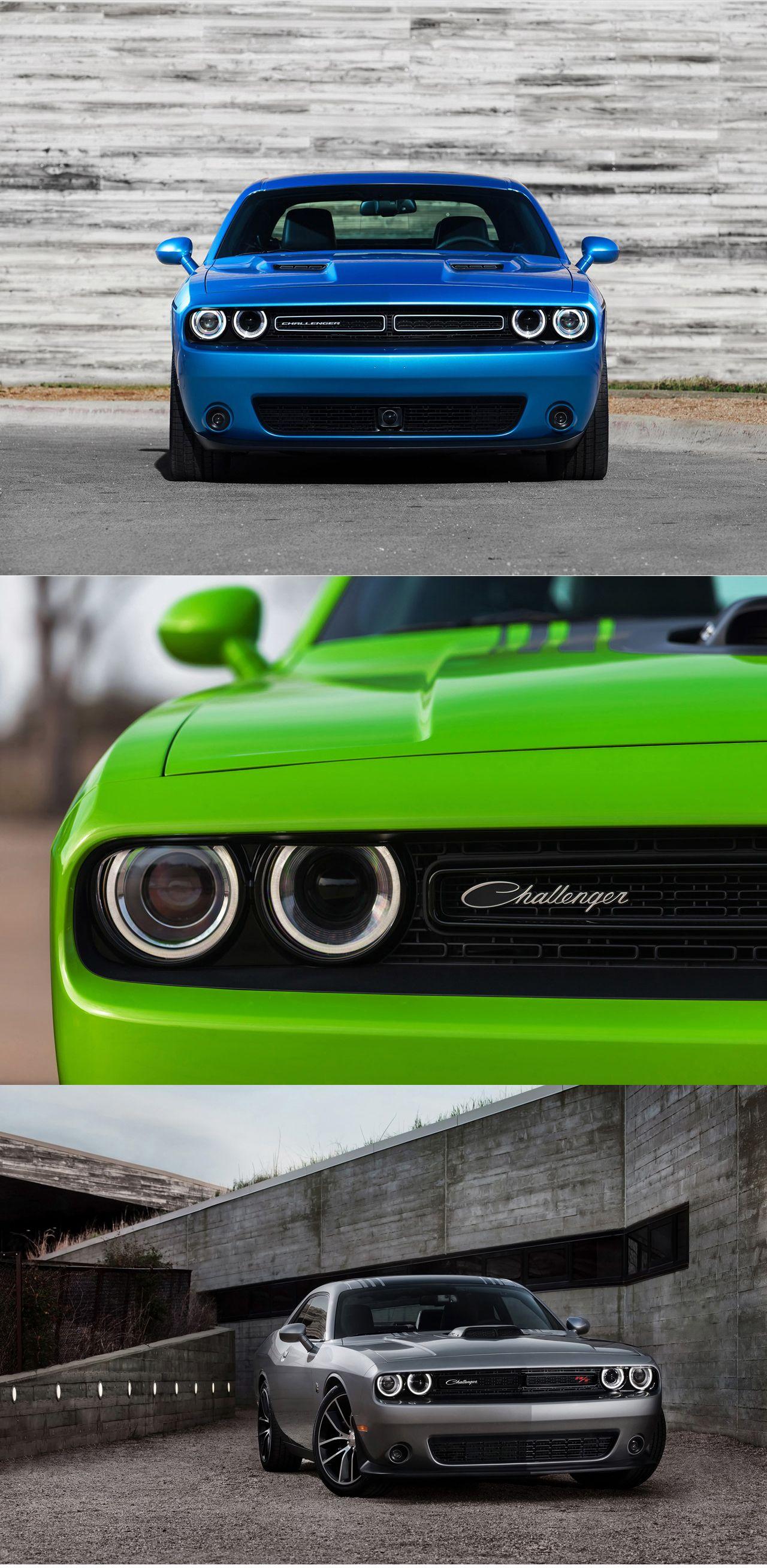 Dodge Has Revamped Their 2 Door Muscle Car 2015 Dodge Challenger For