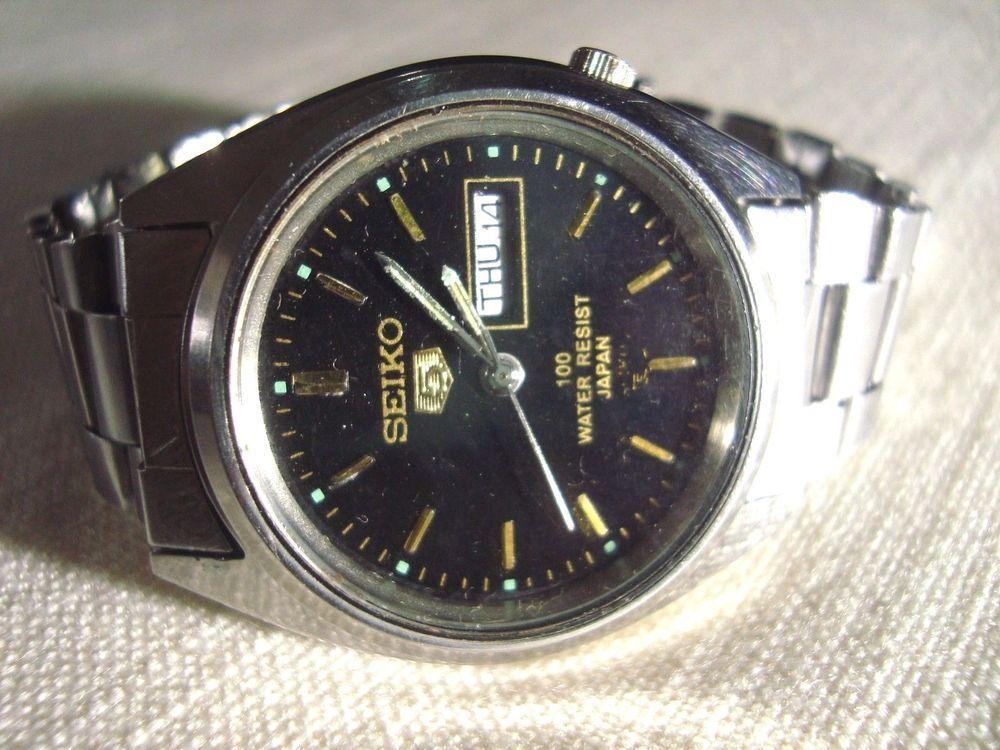 Classic Seiko 5 Automatic Wristwatches 7s26 3040 Seiko Seiko 5 Automatic Seiko Wrist Watch
