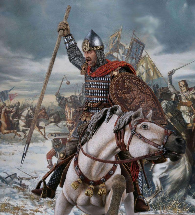 картинки русский воин средневековья одновременно