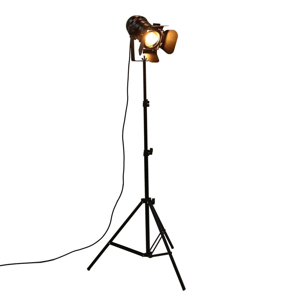 53 95 Watch More Here Industrial Bar Creative Studio Retro Tripod Black Floor Lamp Lights Room Light St Black Tripod Floor Lamp Black Floor Lamp Floor Lamp