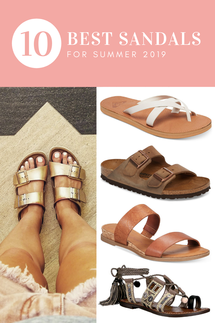 10 Best Sandals for Summer 2019 | Types of sandals, Fab fit