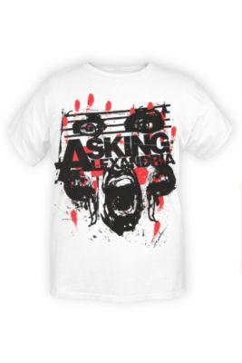 Asking Alexandria Screaming Face T-shirt 2xl