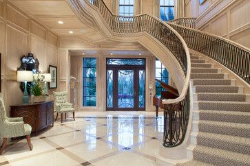 Foyer Design Ideas, Pictures, Remodel, and Decor - #Luxury Houses