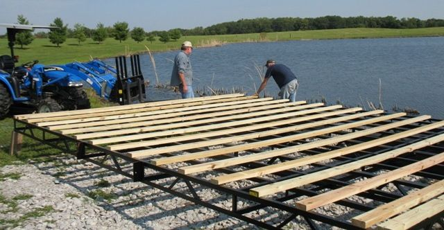 pond dock house ideas Pond and Lake Management Docks Photo Gallery