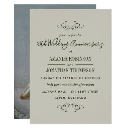 30th pearl wedding anniversary invitation wedding invitations 30th pearl wedding anniversary invitation wedding invitations cards custom invitation card design marriage party stopboris Image collections