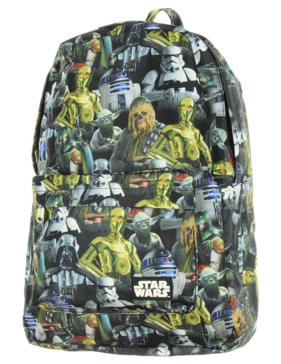 Star Wars Multi Character Backpack