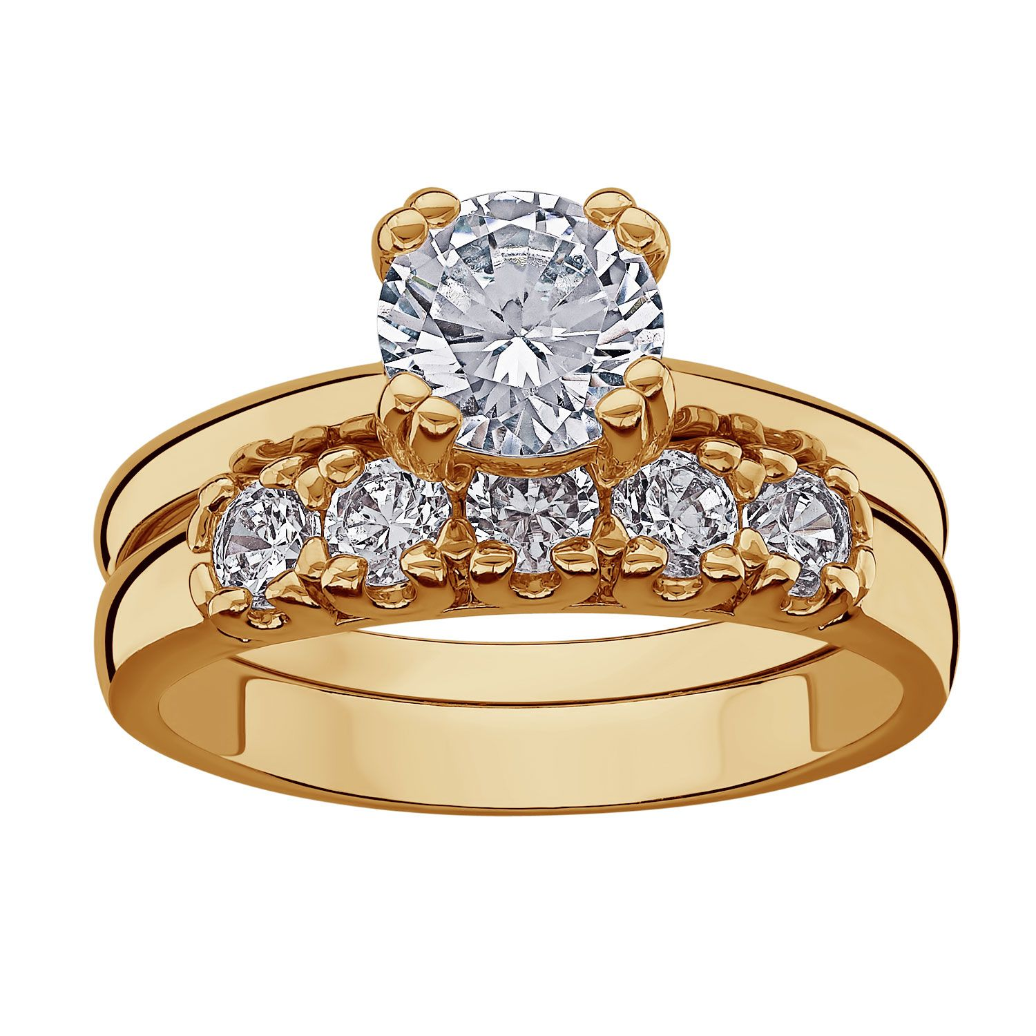 14k Gold Wedding Ring Sets The Appeal Of The Matching Wedding Set