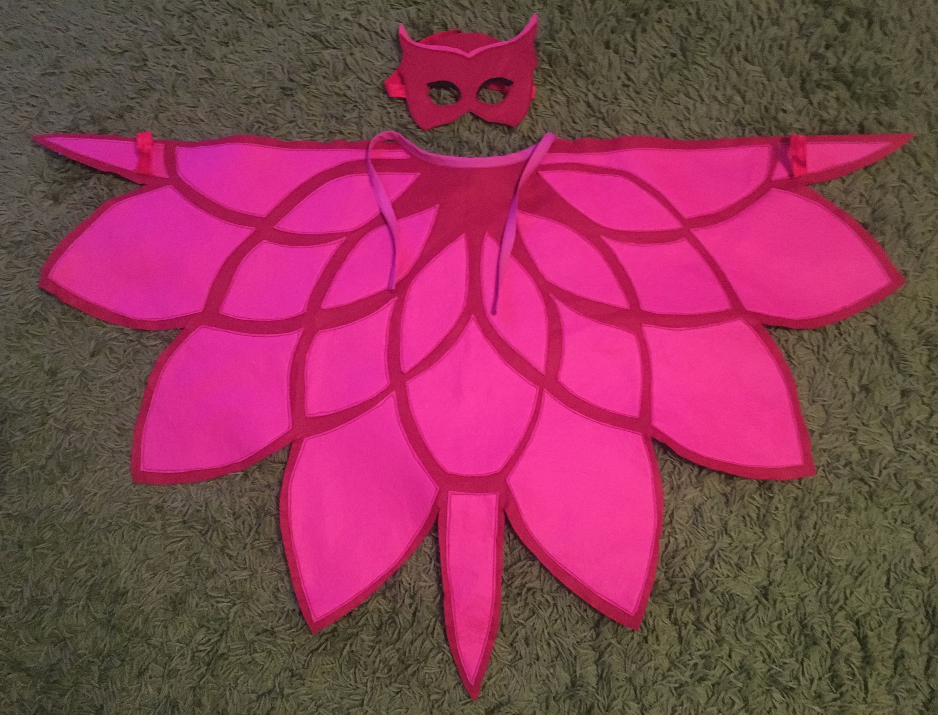 Pj masks owlette costume | Holiday | Pinterest | Kostüm