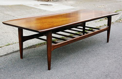 Mid Century Modern Surfboard Coffee Table From Bassettu0027s Artisan  Collection. Mid Century Møbler.