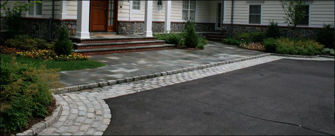 Different Types Driveways Asphalt Driveway Driveway Entrance
