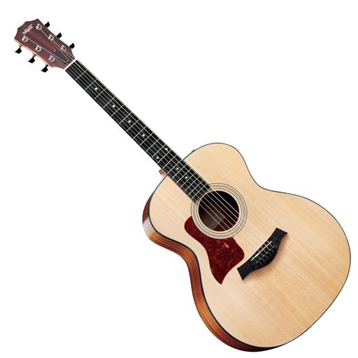 Taylor 114e Grand Auditorium Left Handed Acoustic Electric Guitar Es2 Acoustic Electric Guitar Guitar Acoustic Electric