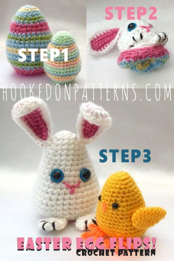 Vegan Easter Eggs Easter Egg Crochet with Three 3 D Roses Spring Home Decor Luxurious Easter Egg Crochet Amigurumi Eggs
