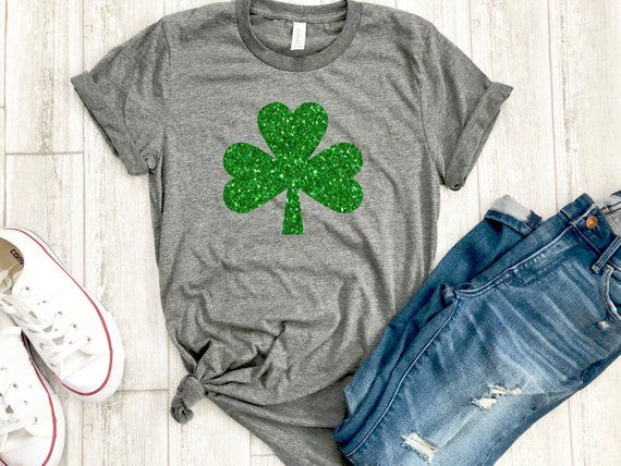 48965e99a Womens irish shirt - glitter shamrock tee - irish af tee - St. Patricks day  shirt - womens st. patri