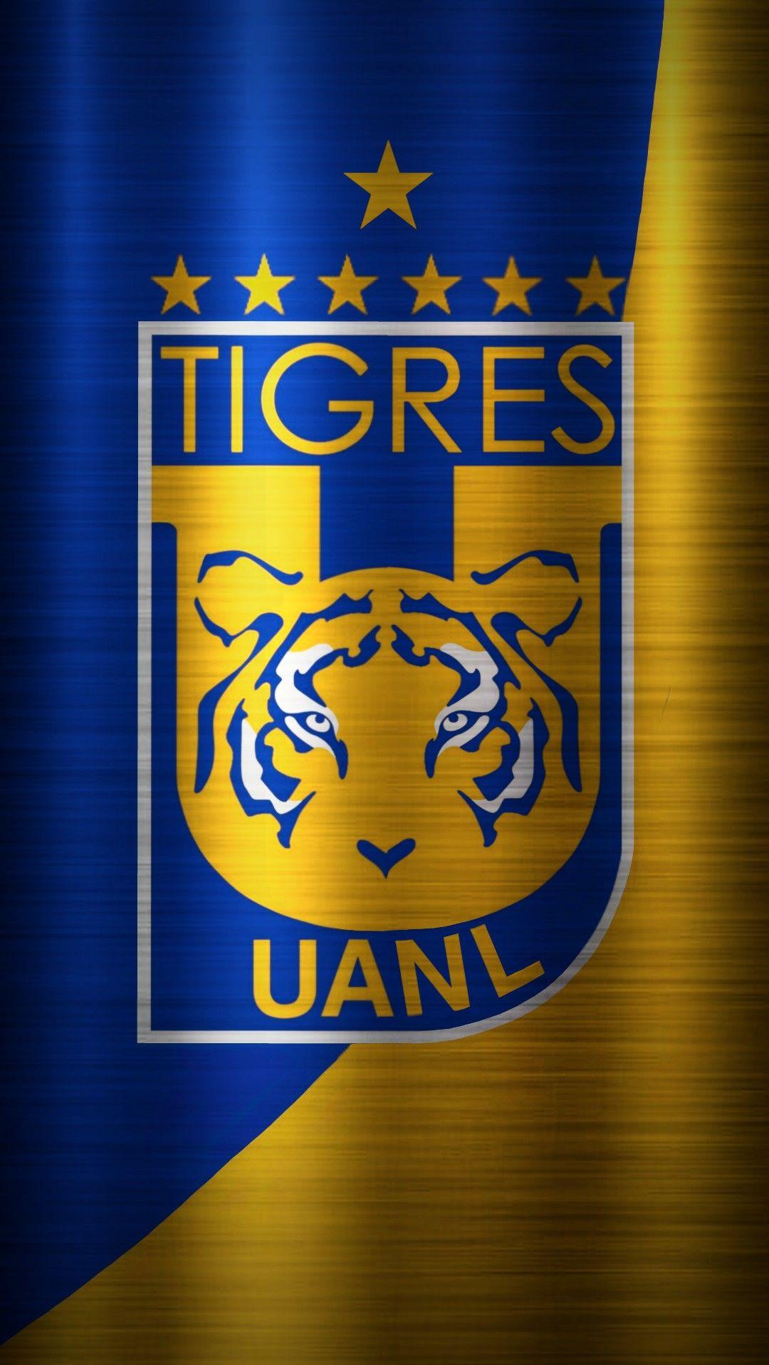 Fondo de Pantalla del Escudo de Tigres UANL 7 estrellas