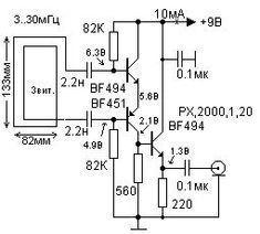 Active magnetic loop antenna circuit diagram #