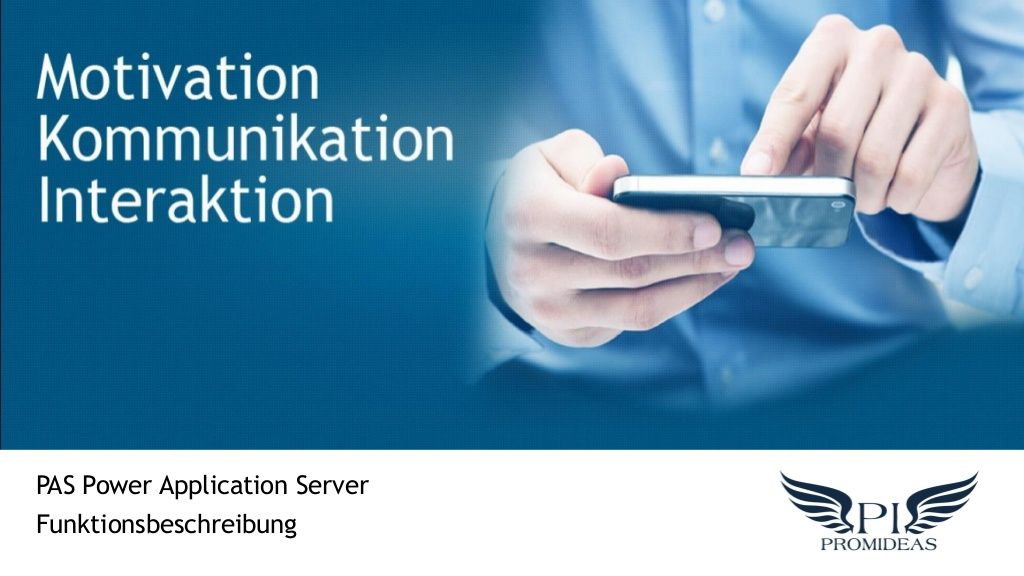 power-application-server-system-pas by Alexander Bertels via Slideshare