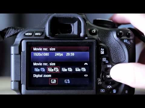 Video Recording Modes for Canon T3i DSLR Camera | Products I