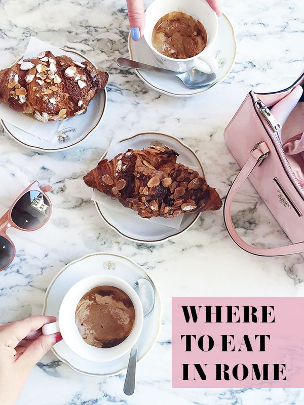 History In High Heels Where To Eat Rome Italy Holidays Breakfast