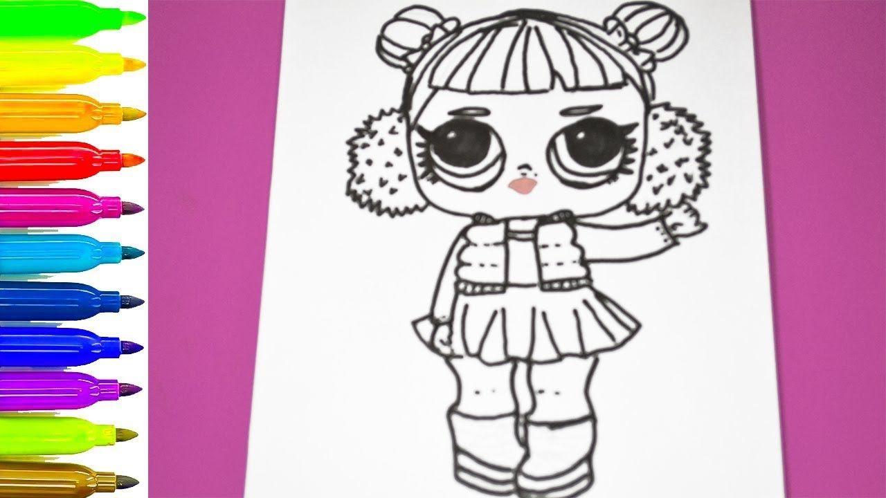 LOL SURPRISE DOLL Coloring Page ❤ Coloring pages lol surprise ...