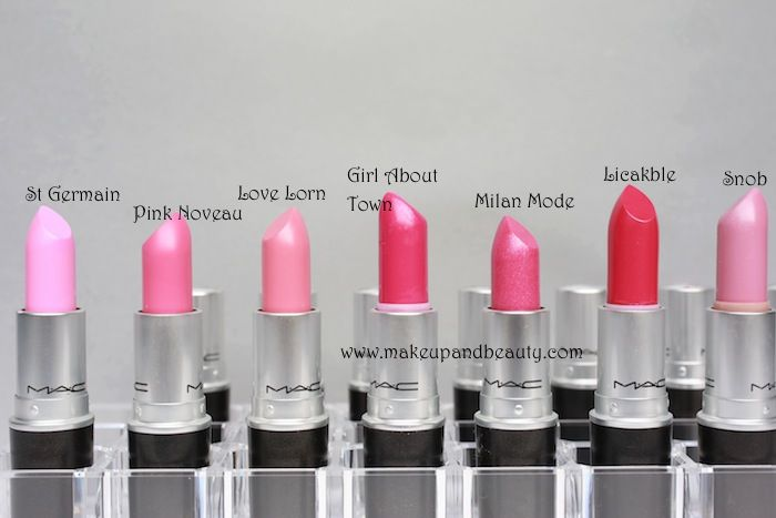 mac lipstick swatches 21 73 MAC Lipstick Photos and Swatches