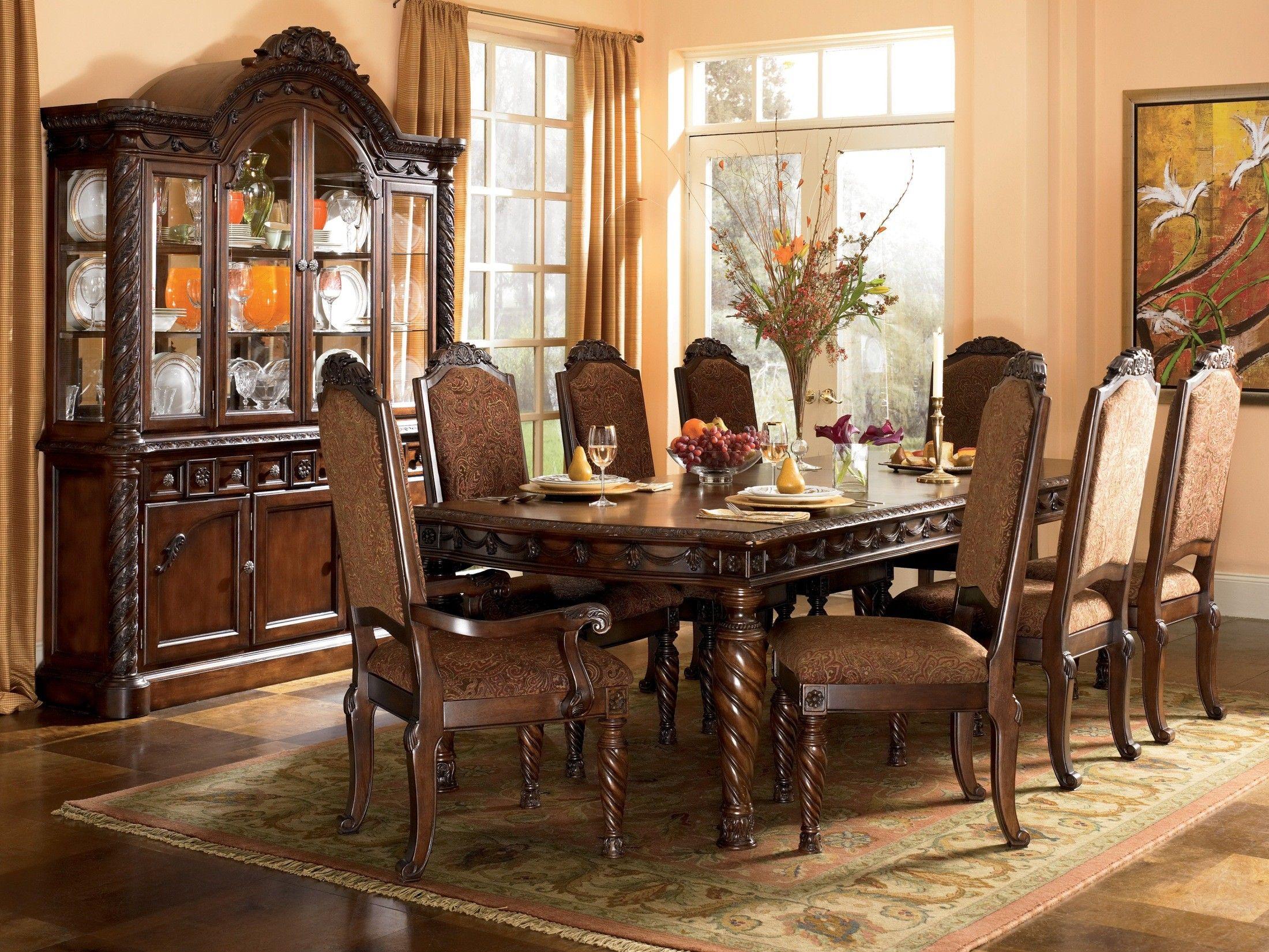 North Shore Rectangular Dining Room Set  Dining Room  Pinterest Delectable Dining Room Sets Ashley Furniture Inspiration Design