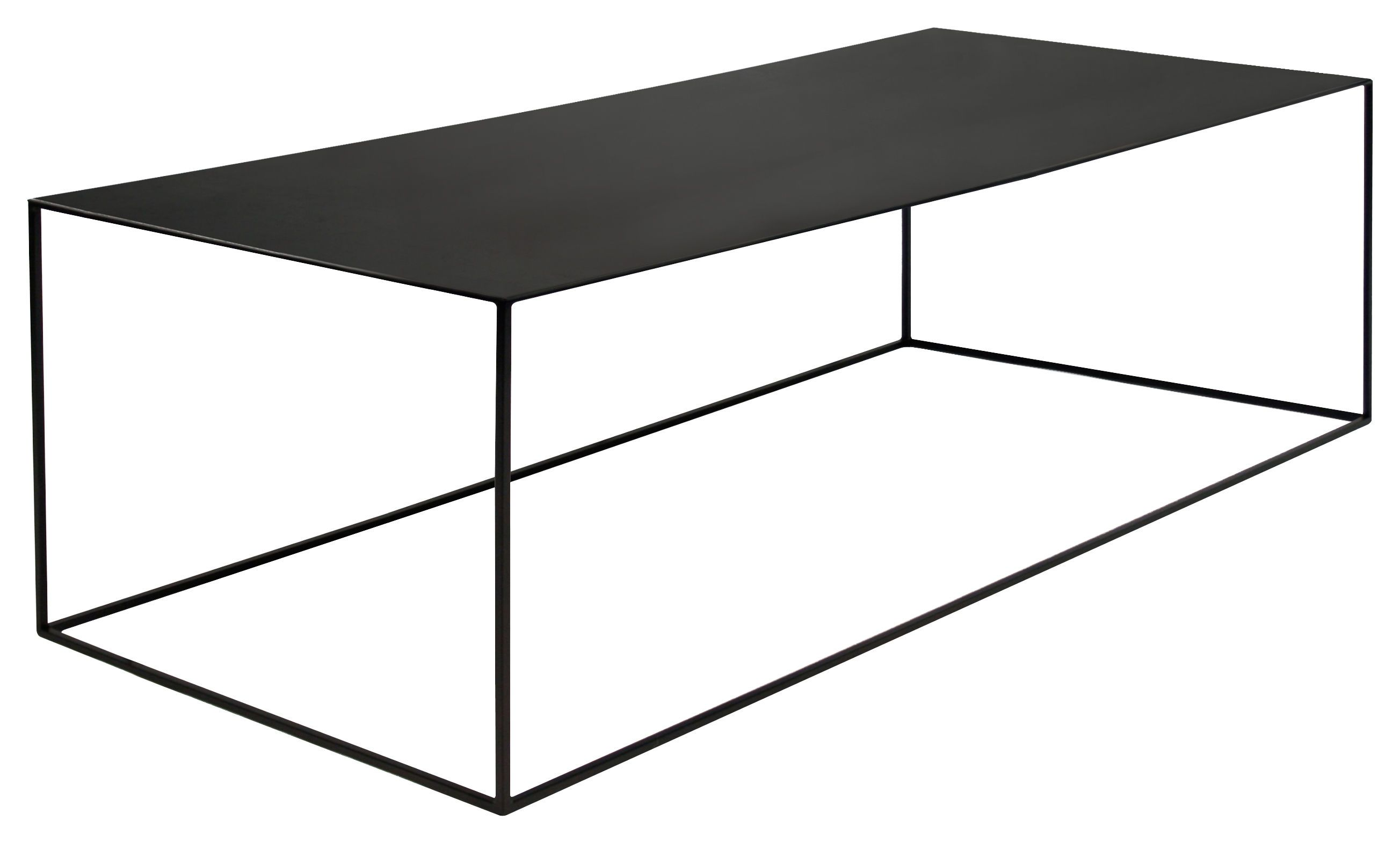 Slim Irony Couchtisch Slim Irony Coffee Table Black Steel By Zeus Design Furniture And