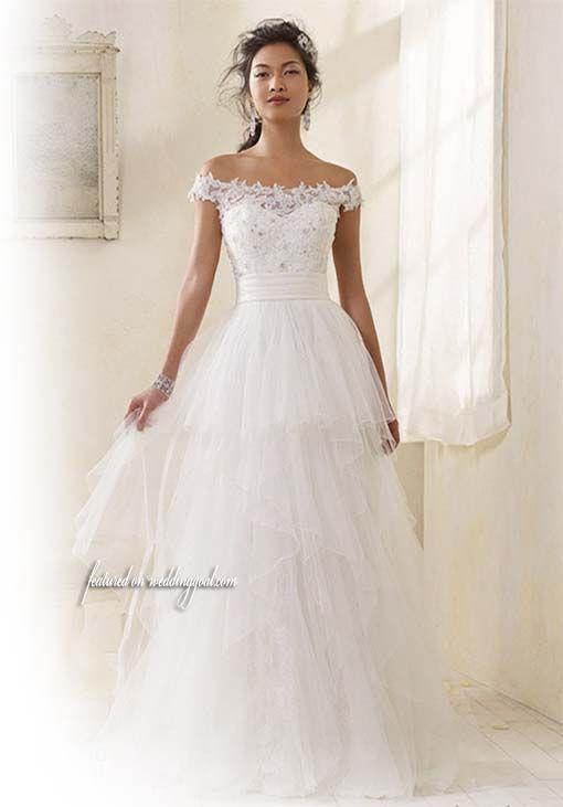 Gallery, Alfred Angelo Modern Vintage Bridal Wedding Dress Off ...