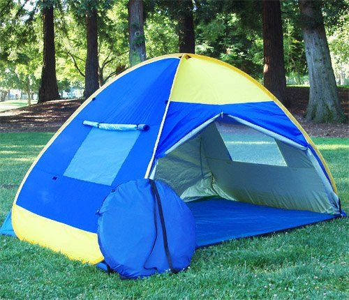BEAUTIFUL POP UP TENT CABANA WIND SHELTER UV PROOF BEACH TENT * You can get additional : pop up tent shelter - memphite.com