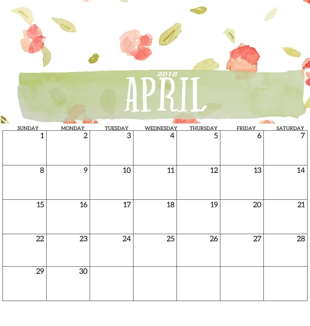 April 2018 Personalised Desk Calendar Desk Calendar Template Desk Calendars Personalized Desk Calendar