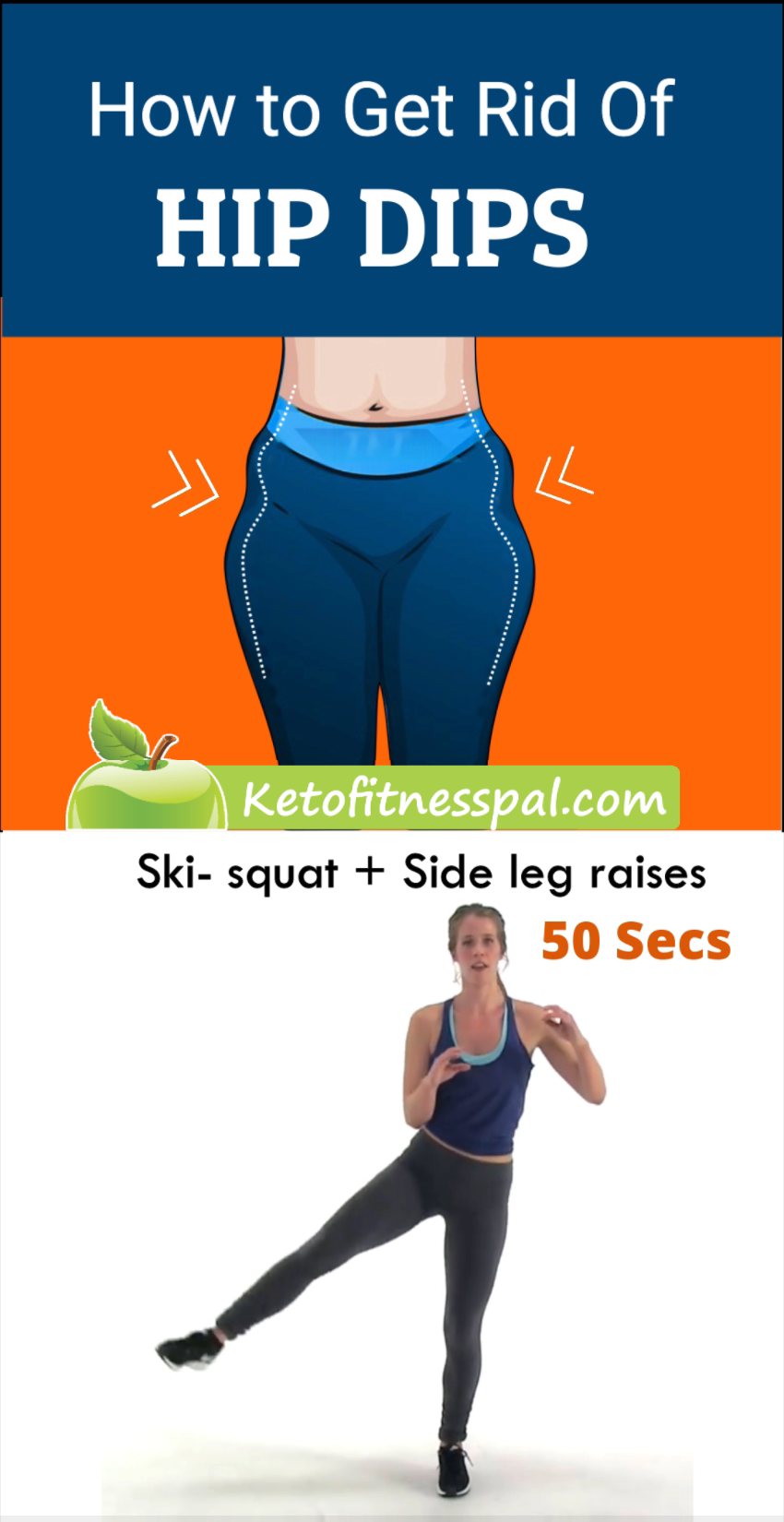 The Best Exercises for Curvy Hips - Side Glutes Workout To Reduce Hip Dips Forever