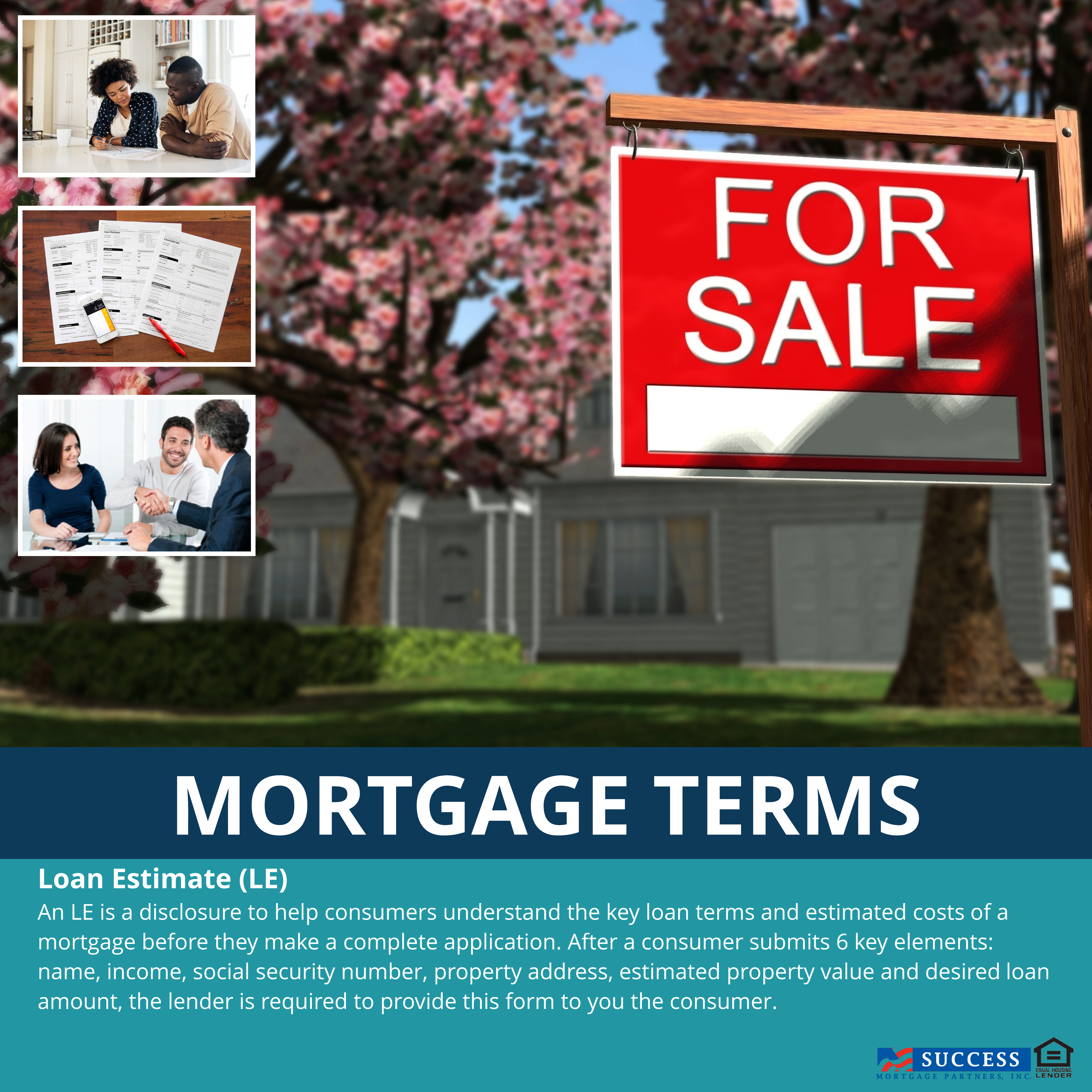 All Lenders Are Required To Use The Same Standard Loan Estimate
