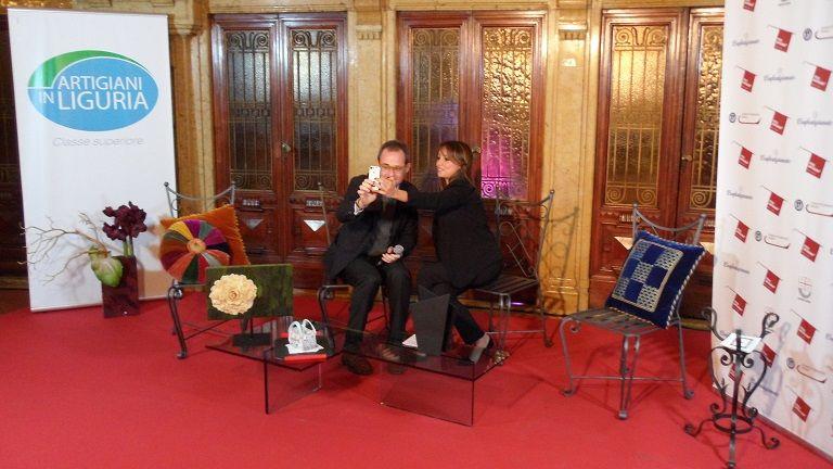 Click! Selfie anche Matteo e Giorgia