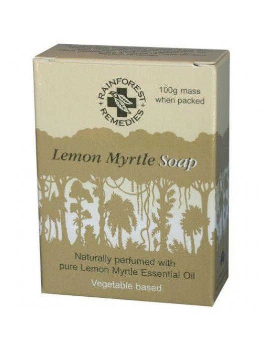 RAINFOREST REMEDIES Lemon Myrtle Soap Smooth 100g Single Box