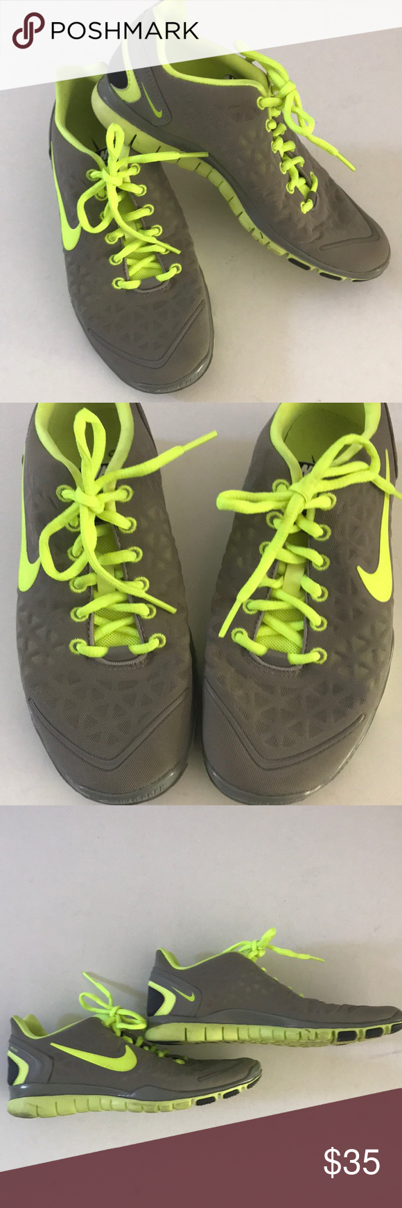 f9efa242bceb Nike Free Fit 2 Training Sneaker. Rubber sole. Strategically placed mesh  for breathability.