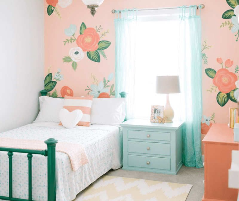 Best 10 Floral Girls Rooms Gorgeous Girls Rooms Creative Kids Rooms Kids Room Girls Bedroom 400 x 300
