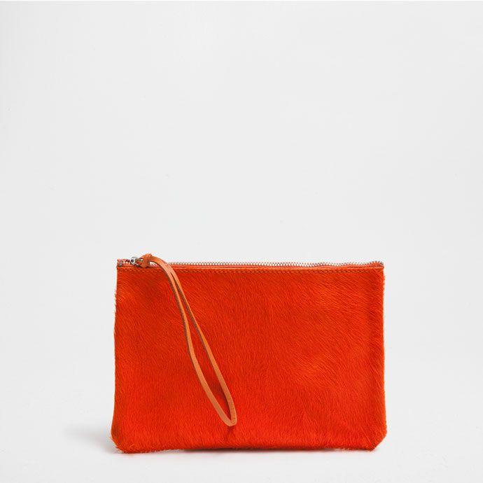 TROUSSE CUIR ORANGE - Accessoires - Bain | Zara Home België ...