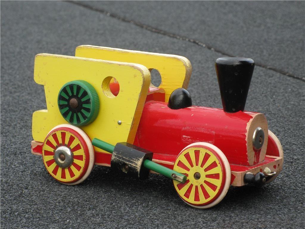 BRIO leksak: Ånglok i slitet skick, 25 cm långt på Tradera.com - BRIO