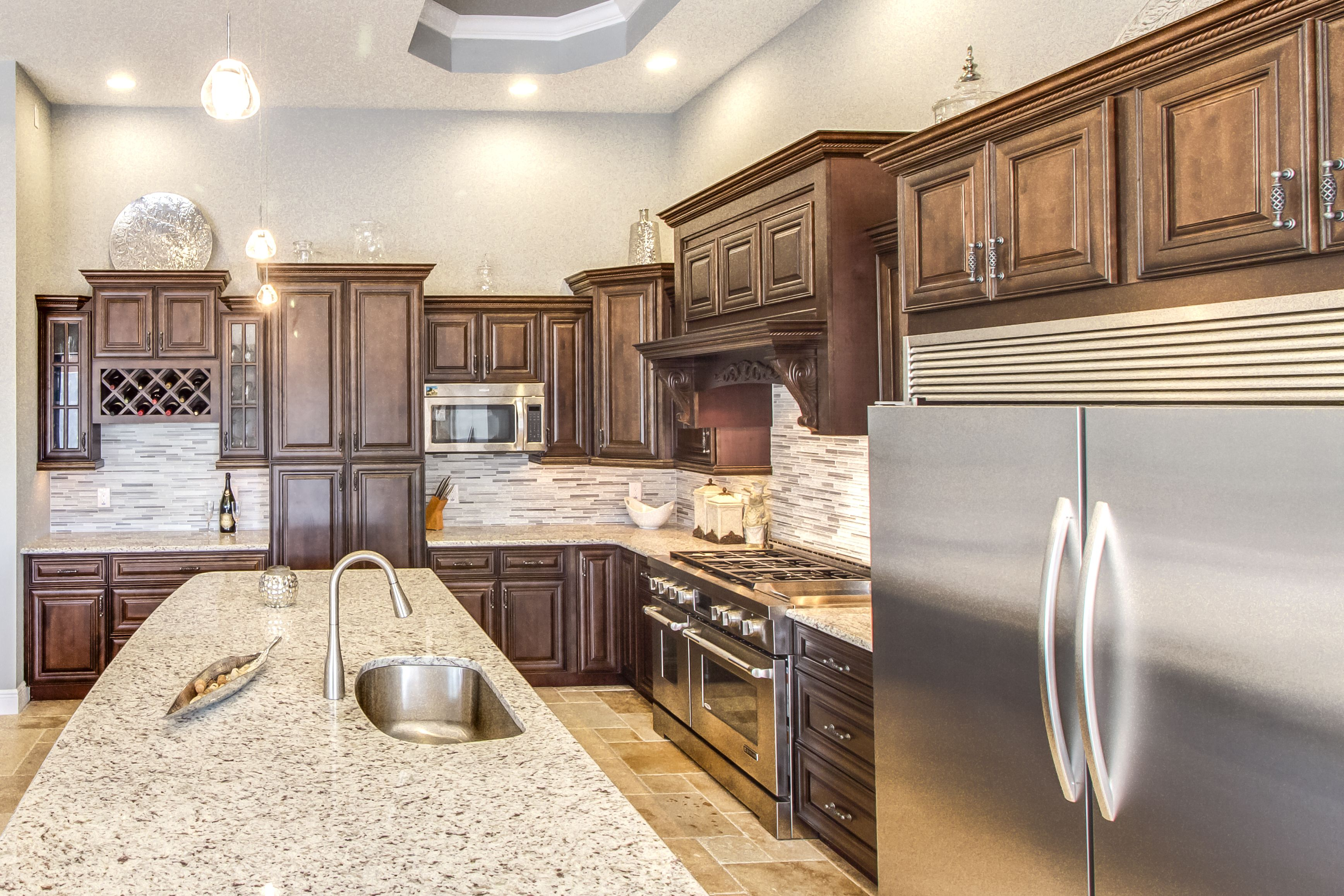 Pin By Import Cabinet Brokers Of Kent On Kitchens Kitchen Cabinets In Bathroom Built In Cabinets Wood Kitchen