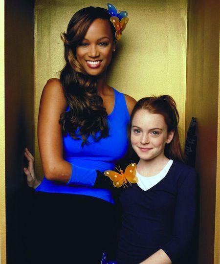 """Tyra Banks On Glee: Disney's """"Life-Size"""" Starring Tyra Banks And Lindsay Lohan"""
