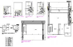 Plumbing pipe line house detail dwg file | block | Plumbing drawing