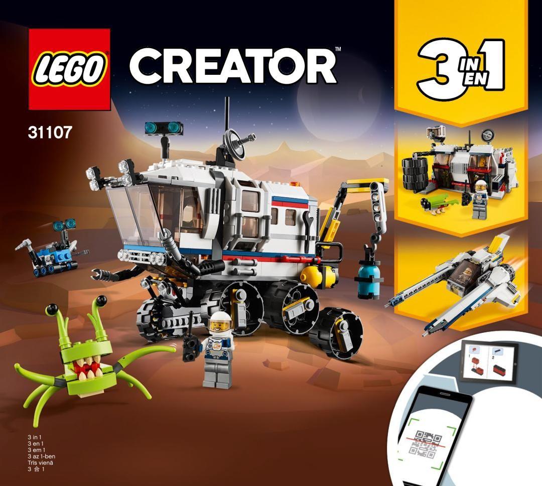 Building Instructions Instructions De Montage Lego 31107 L Explorateur Spatial Lego Lego Creator Sets Lego Creator