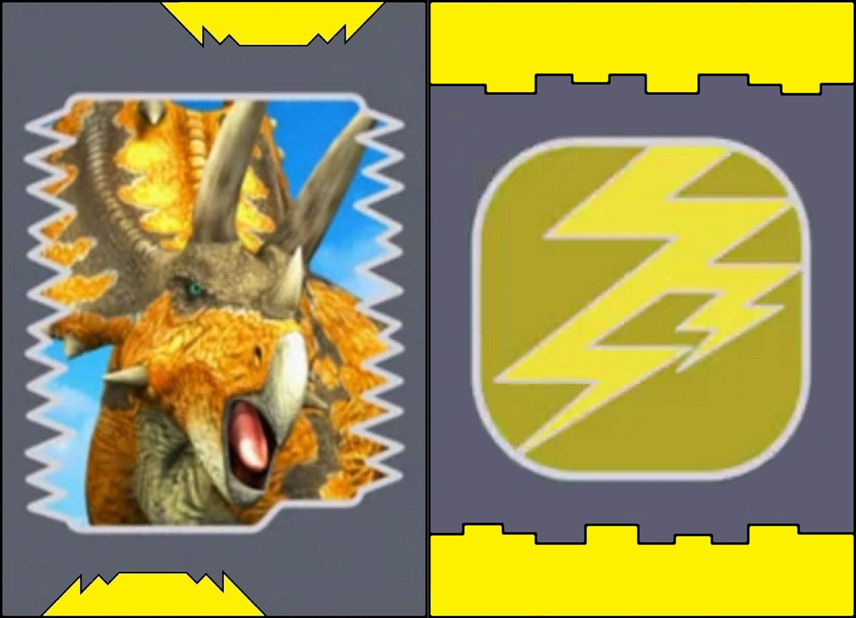 Image pentaceratops dinosaur king wikia - Dinosaure king ...