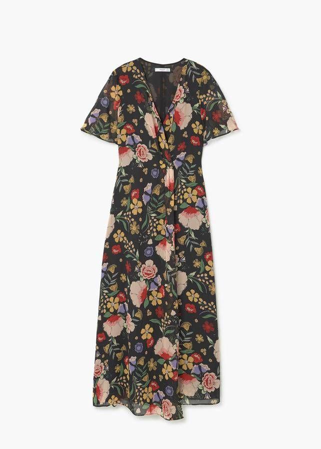 ... 20 robes longues pour être chic l air de rien - Elle. Robe longue Mango e4f391a8215a