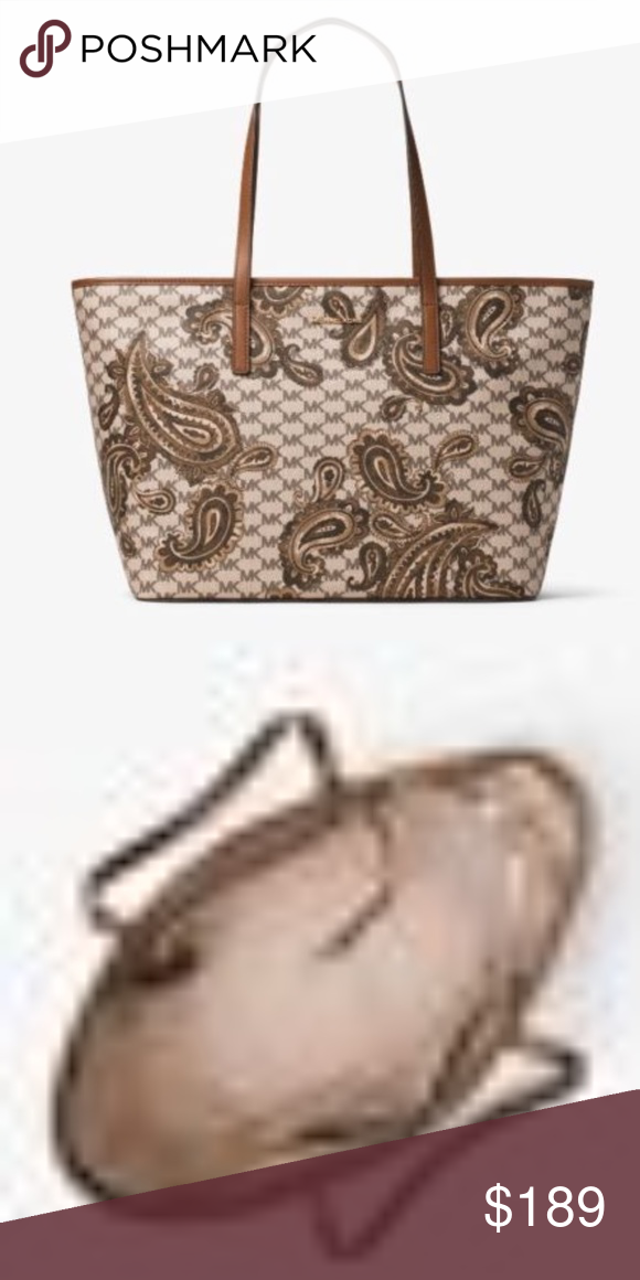 fc702a128ecd Michael Kors Emry Large Heritage Paisley Tote Michael Kors Emry Large  Heritage Paisley Tote Studio Collection
