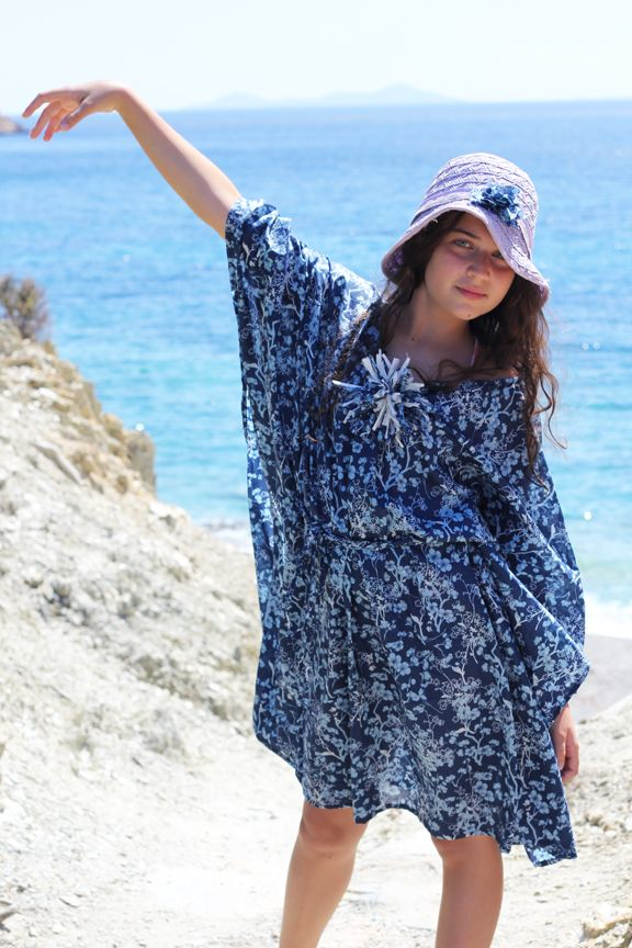 Summer voile caftan - kaftan tutorial | sewing projects/hints ...